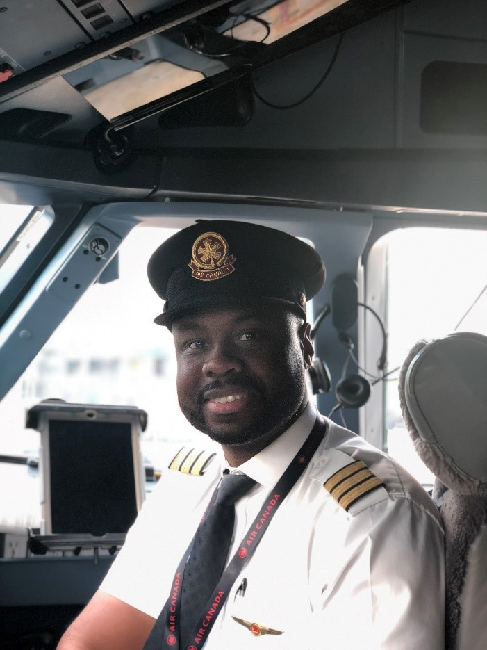 First Officer Damar Walker